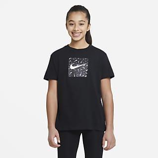 Nike Sportswear Playera para niña talla grande