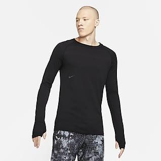 Nike NSRL Wollen herentop met ronde hals en lange mouwen