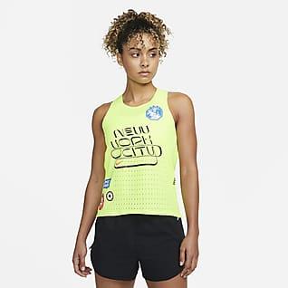 Nike Dri-FIT ADV AeroSwift NYC Women's Running Singlet