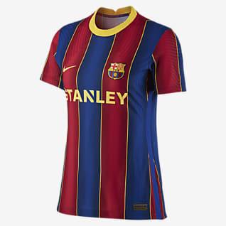 FC Barcelona de local para mujer Vapor Match 2020/21 Camiseta de fútbol para mujer