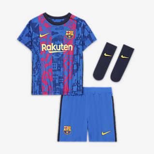 Tercera equipación FC Barcelona 2021/22 Equipación de fútbol - Bebé e infantil