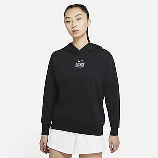 Nike Sportswear Swoosh 女子套头连帽衫