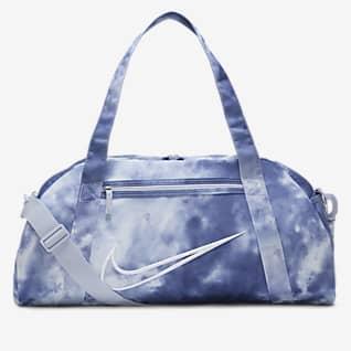 Nike Gym Club กระเป๋า Duffel เทรนนิ่งผู้หญิงพิมพ์ลาย