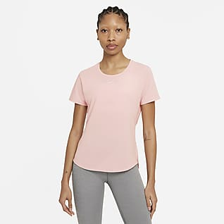 Nike Dri-FIT One Luxe Top Standard Fit a manica corta - Donna