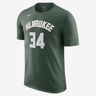 Giannis Antetokounmpo Μιλγουόκι Μπακς Ανδρικό T-Shirt Nike NBA
