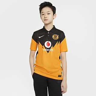 Kaizer Chiefs F.C. 2020/21 Stadium Home Fodboldtrøje til store børn