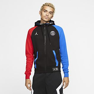 19 20 Hombre Paris sudadera con capucha de fútbol hoodie jacket 2019 2020 chándal fútbol MBAPPE chandal jordan sudadera con capucha chandal futbol