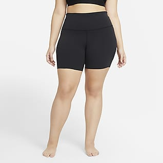Nike Yoga Luxe Women's Shorts (Plus Size)