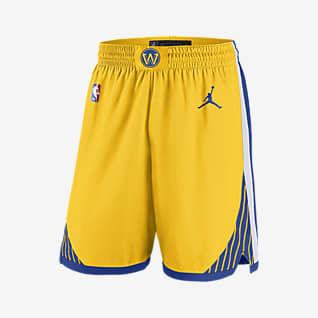 Warriors Statement Edition 2020 Shorts Jordan NBA Swingman för män