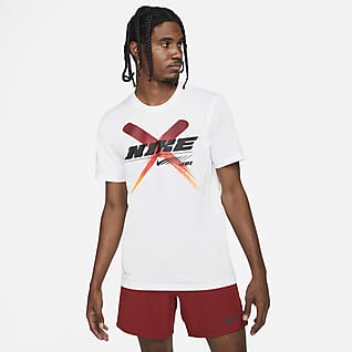 Nike Dri-FIT T-shirt de treino com grafismo para homem