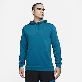 Nike Dri-FIT Sudadera con gorro de entrenamiento sin cierre para hombre