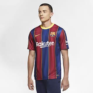 FC Barcelona 2020/21 Stadium (hemmaställ) Fotbollströja för män