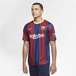FC Barcelona Stadium 2020/21 (wersja domowa) Męska koszulka piłkarska