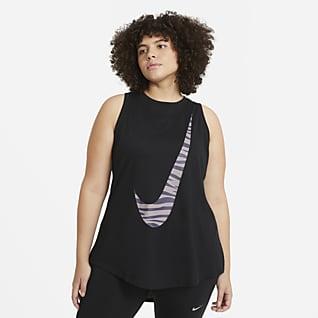 Nike Dri-FIT Icon Clash Samarreta de tirants d'entrenament (talles grans) - Dona