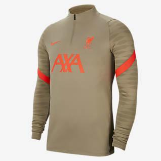 Liverpool FC Strike Men's Soccer Drill Top