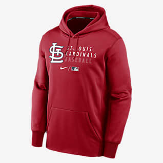 Nike Therma (MLB St. Louis Cardinals) Men's Pullover Hoodie