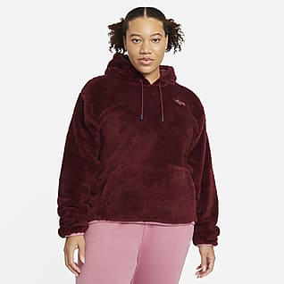Nike Sportswear Sudadera con capucha para mujer (talla grande)