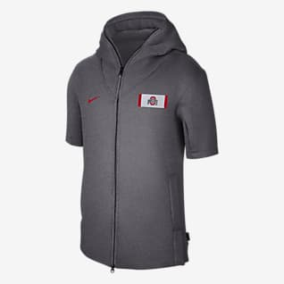 Nike College Showout (Ohio State) Men's Short-Sleeve Hoodie