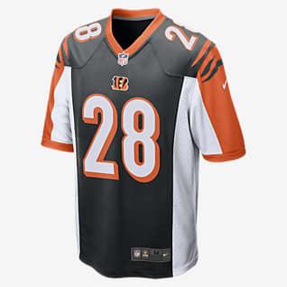 NFL Cincinnati Bengals (Joe Mixon) American football-wedstrijdjersey voor heren
