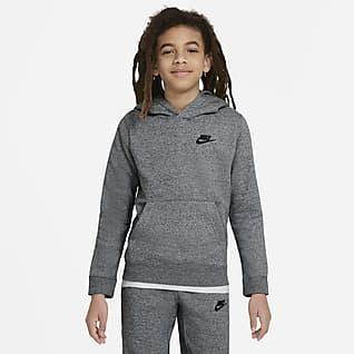 Nike Sportswear Zero Pullover-hættetrøje til store børn