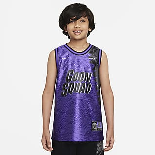 Nike Dri-FIT x Space Jam: A New Legacy Camisola de basquetebol Júnior