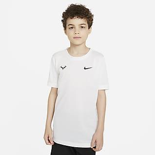 Rafa Tennis-T-skjorte til store barn (gutt)