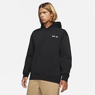 Nike SB Μπλούζα με κουκούλα και σχέδια για skateboarding