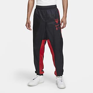 Chicago Bulls Courtside Men's Nike NBA Tracksuit Pants