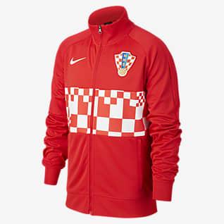 Kroatien Fodboldjakke til store børn
