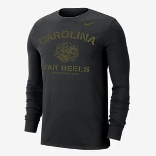 Nike College Dri-FIT (UNC) Men's Long-Sleeve T-Shirt