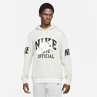 Nike Sportswear Huvtröja i fransk french terry för män