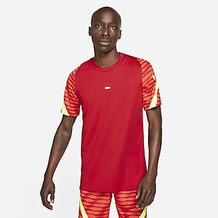 Nike Dri-FIT Strike Ανδρική κοντομάνικη ποδοσφαιρική μπλούζα