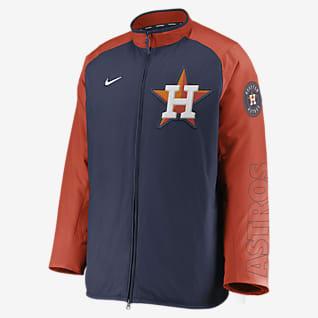 Nike Dugout (MLB Houston Astros) Men's Full-Zip Jacket