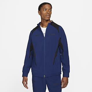 Nike F.C. Męska kurtka piłkarska z tkaniny