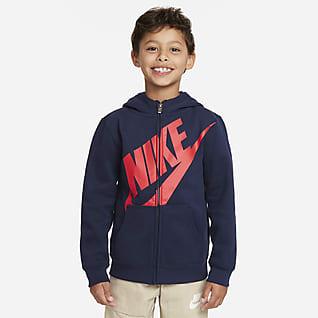 Nike 幼童全长拉链开襟连帽衫
