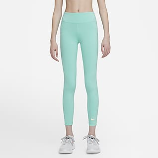 Nike One Older Kids' (Girls') High-Waisted Training Leggings