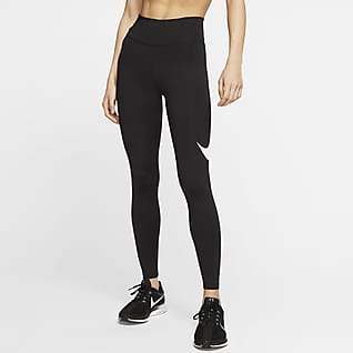 Nike Tights da running a 7/8 a vita media - Donna
