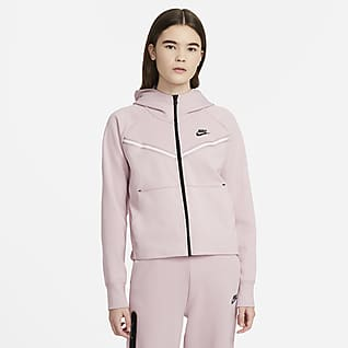 Nike Sportswear Tech Fleece Windrunner Huvtröja med hellång dragkedja för kvinnor