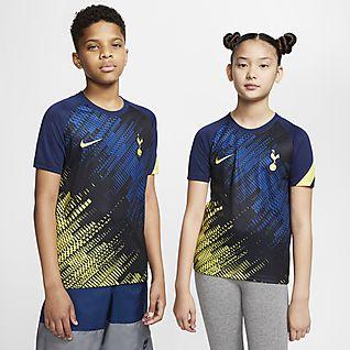 Tottenham Hotspur Kurzarm-Fußballoberteil für ältere Kinder