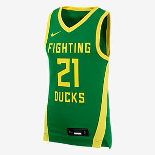 Nike College (Oregon) Camiseta de baloncesto para niños talla grande