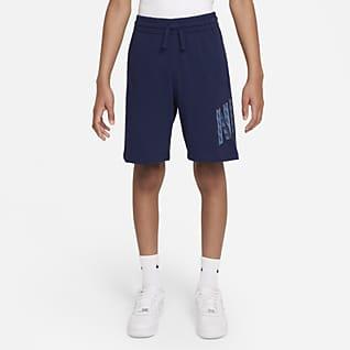 Nike Sportswear Older Kids' (Boys') Graphic Jersey Shorts