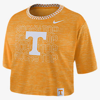 Nike College (Tennessee) Women's Crop T-Shirt