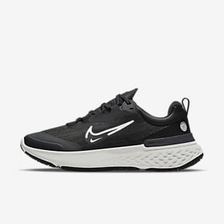 Nike React Miler 2 Shield Damskie buty do biegania w każdych warunkach pogodowych po asfalcie