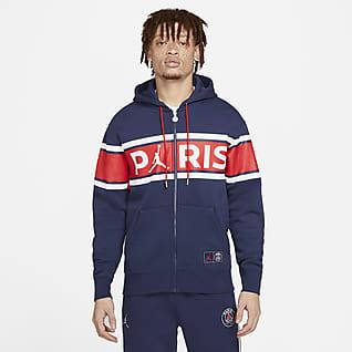 Paris Saint-Germain Men's Full-Zip Fleece Hoodie