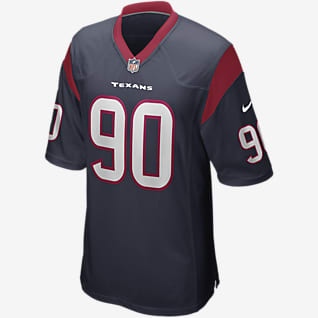 NFL Houston Texans (Ross Blacklock) Men's Game Football Jersey