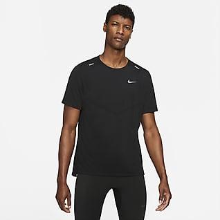 Nike Dri-FIT Rise 365 Kortærmet løbeoverdel til mænd