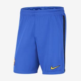 FC Barcelona 2021/22 Stadium (wersja trzecia) Męskie spodenki piłkarskie Nike Dri-FIT