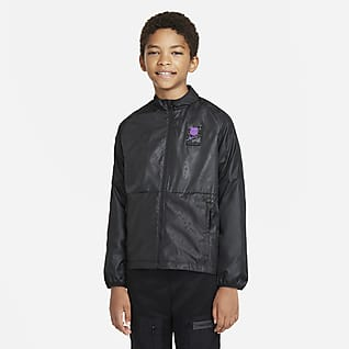 F.C. Barcelona Repel Academy AWF Older Kids' Nike Dri-FIT Football Jacket