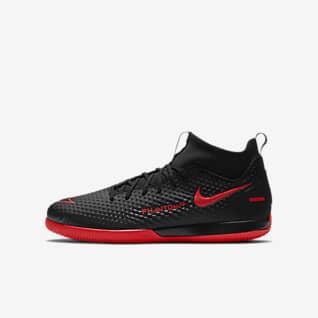 Nike Jr. Phantom GT Academy Dynamic Fit IC Zaalvoetbalschoen voor kleuters/kids