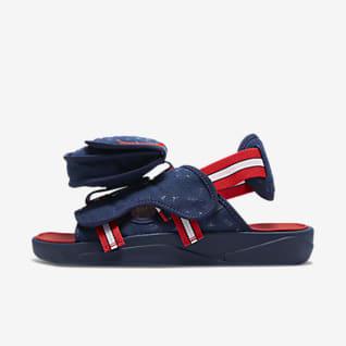Jordan LS x Paris Saint-Germain 男款拖鞋